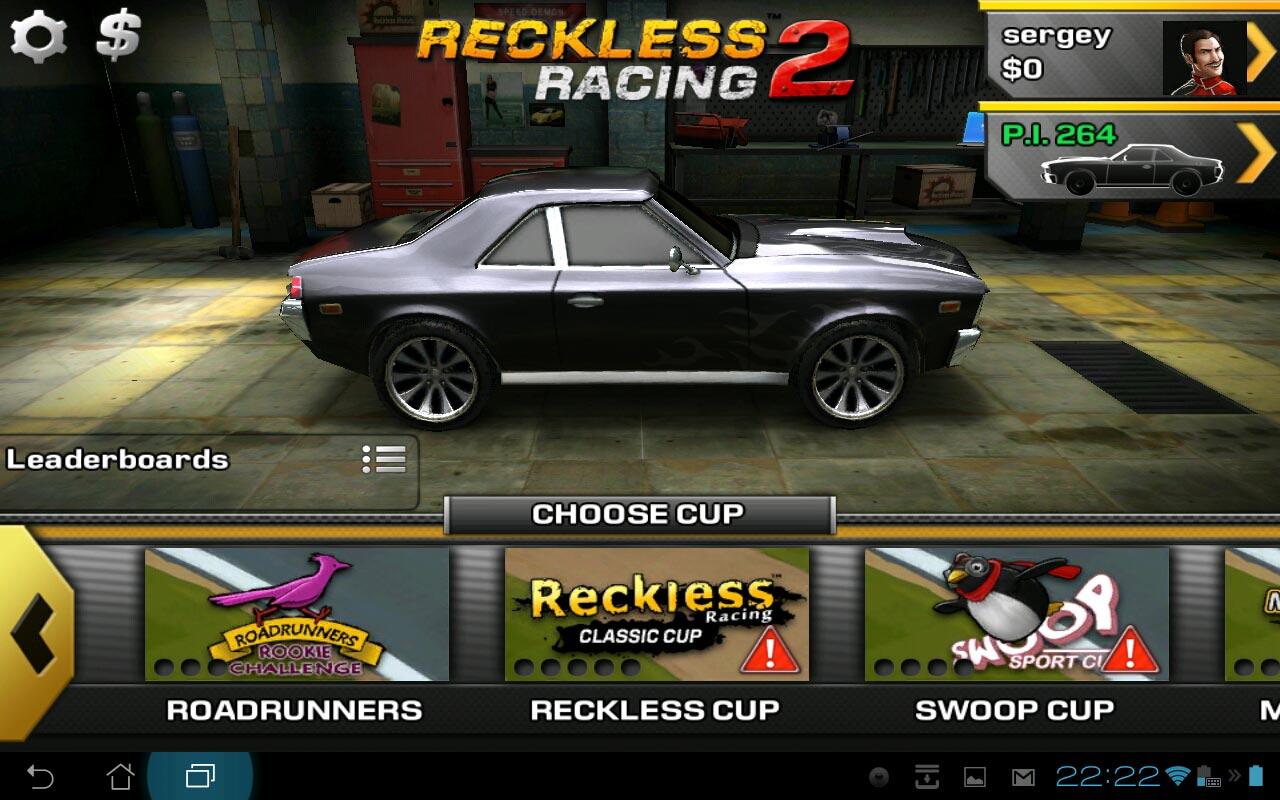 Скачать Игры На Андроид Reckless Racing 2