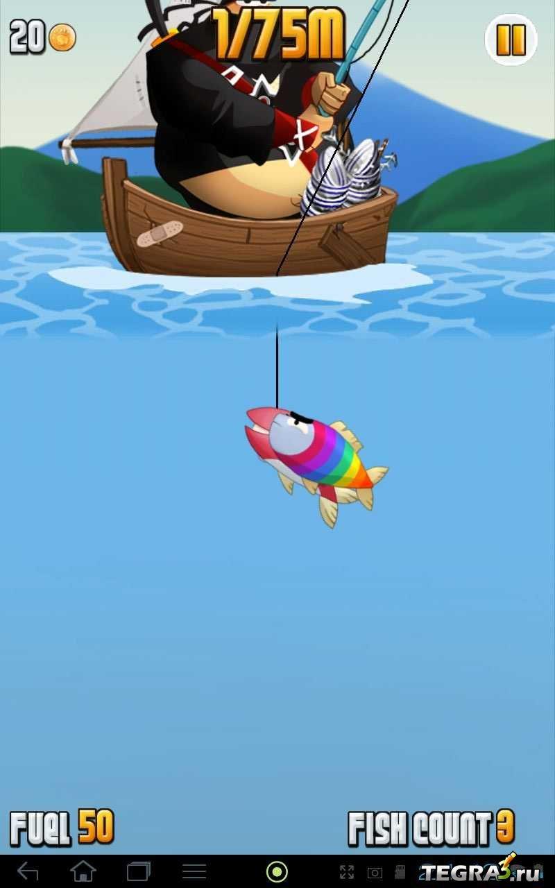 ниндзя рыбалка