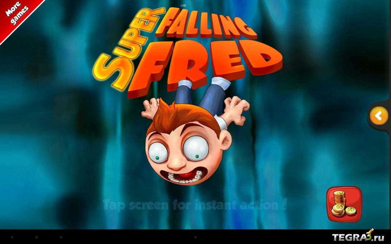 Скачать Super Falling Fred На Андроид