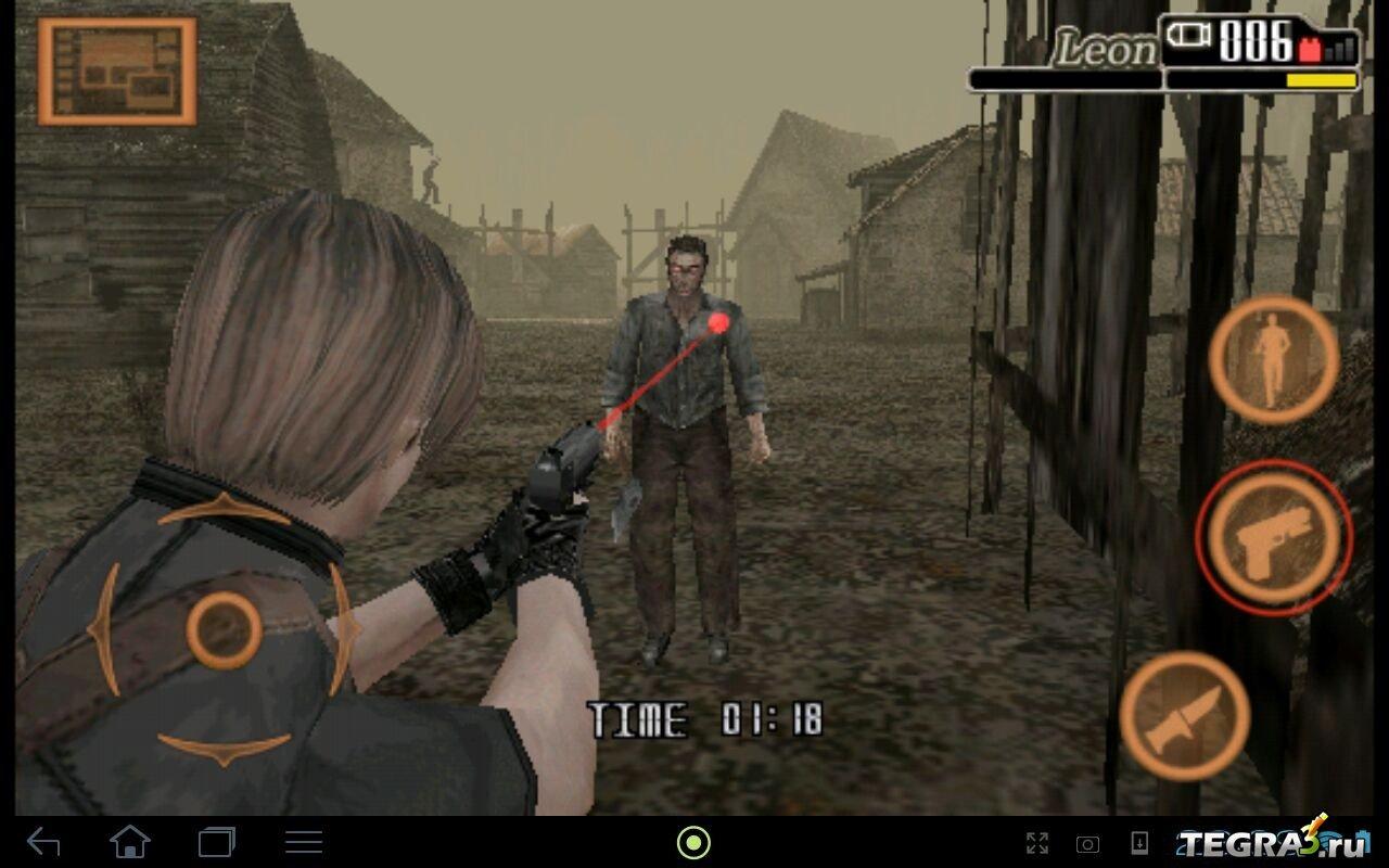 Resident Evil 4 Android Eng Скачать