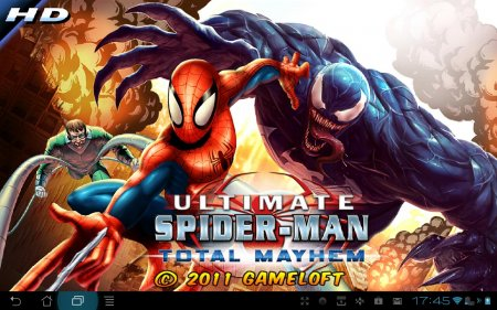Spider-Man: Total Mayhem HD