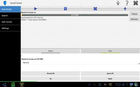 SmartTorrent BitTorrent Client