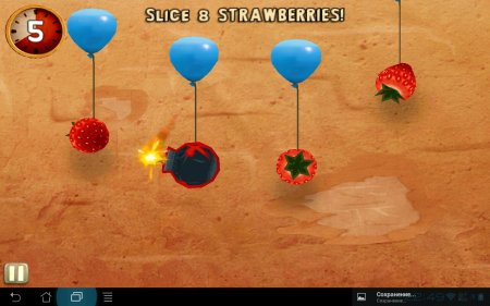 Fruit Ninja: Puss in Boots версия 1.0.4