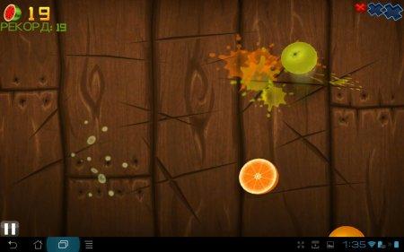 Fruit Ninja THD версия 1.6.1/1.9.1