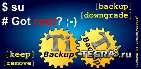 Titanium Backup ? root