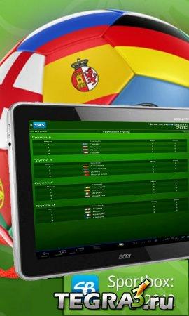 Sportbox: EURO-2012  (Добавил первые результаты матчей )