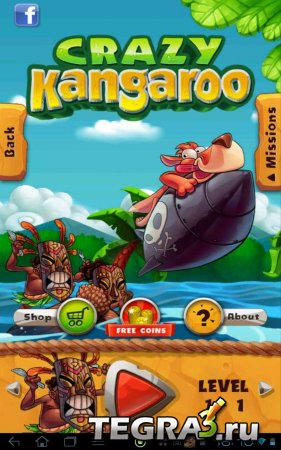 Crazy Kangaroo (обновлено до v.1.6)
