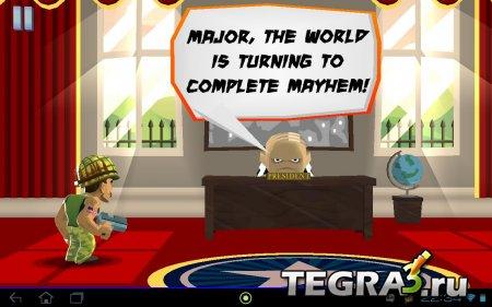 Major Mayhem v1.1.1 [Mod Money-Unlock]