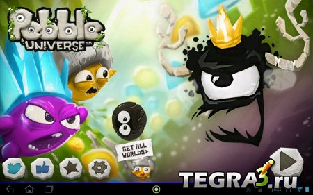 Pebble Universe v1.3 (архив Titanium Backup  открыты все уровни )
