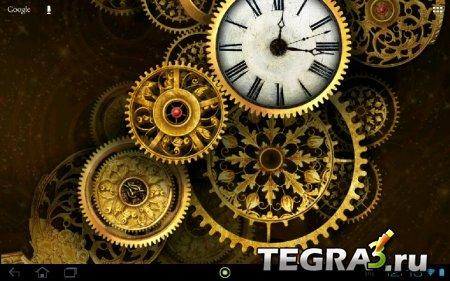 Gold clock world time HD v.1.08