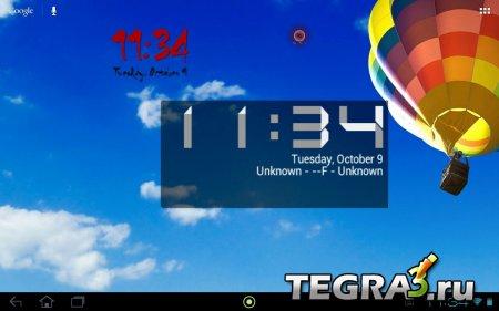 One More Clock Widget  v1.4.8