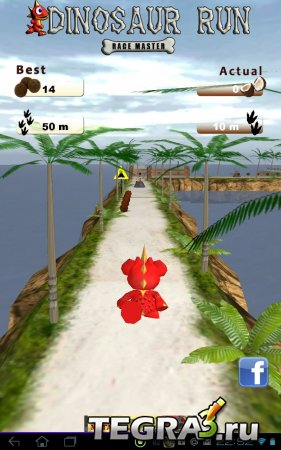 Динозавр Run - Race Master v 1.0 [G-Senser]