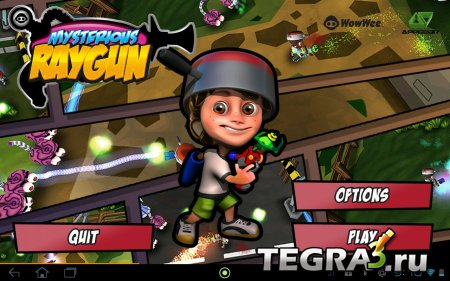 Mysterious Raygun v0.9.7