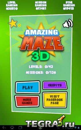 Amazing Maze 3D Deluxe