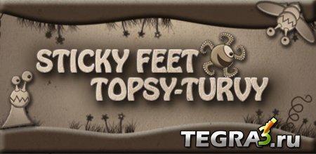 Sticky Feet Topsy-Turvy