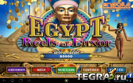 Egypt Reels of Luxor v2.0