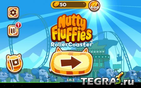Nutty Fluffies Rollercoaster v1.0.5 Мод