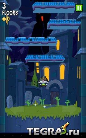 Icy Tower 2 Zombie Jump v1.4.18 Mod [Бесконечное золото]