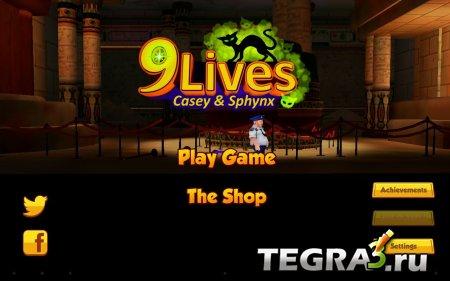 иконка 9 Lives: Casey and Sphynx  + Мод (свободные покупки)