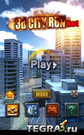 иконка 3D City Run Hot