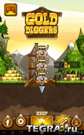 иконка Gold Diggers  (Unlimited Gold)