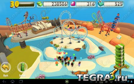 Coaster Crazy Deluxe (Kindle Tablet Edition) v1.0.0