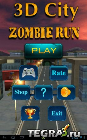 3D City Zombie RUN v1.1 (Mod)