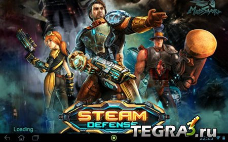 Steam Defense  (Unlimited Gold)