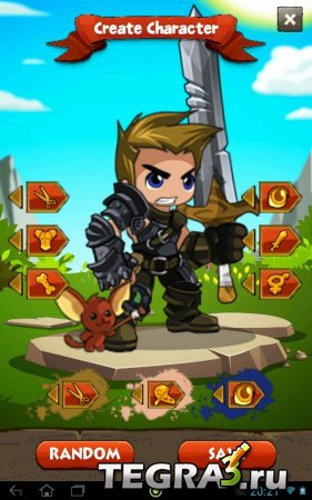 Battle Gems (Adventure Quest) v1.0.8 [Higher Base Stat-Gold]