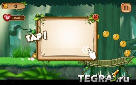 Обезьяна Бегущий Игры Бегалки (Banana Island – Jungle Run) v1.0 [Mod Money]