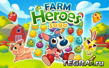 Farm Heroes Saga v2.18.7 [Unlimited Lives & Boosters]
