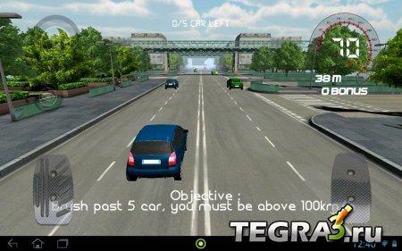 Traffic Clash race in Paris v1.03 [Mod Money]