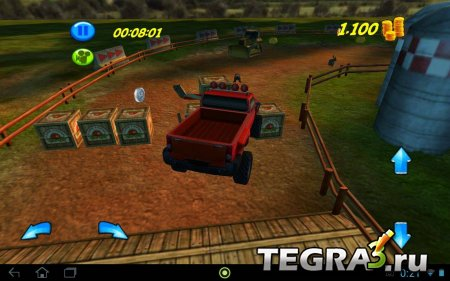Destruction Race - On the Farm v1.1 [Mod Money]