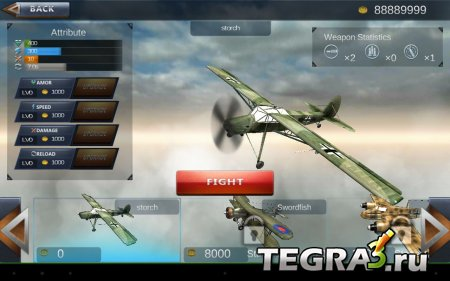 WW2 самолет битва 3D (WW2 Aircraft Battle 3D) v1.0.2 [Mod Money]