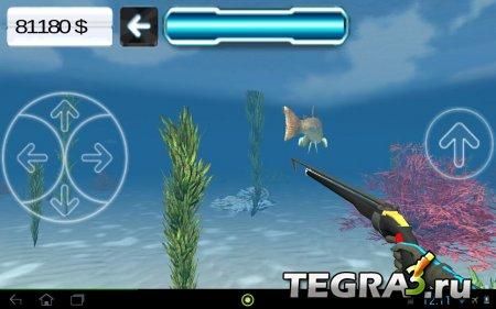 Охота подводная 3D (Spearfishing 3D) v1.3 [много денег]